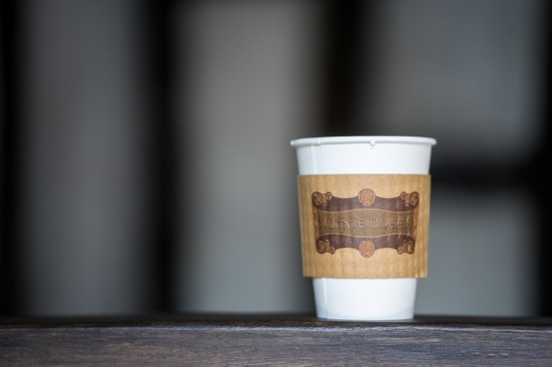 The temperatures dropped into the 30's in Orlando this weekend, a perfect time for Hot Butterbeer.