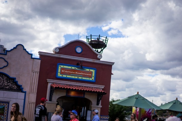 There are also Food and Wine style booths through World Showcase.
