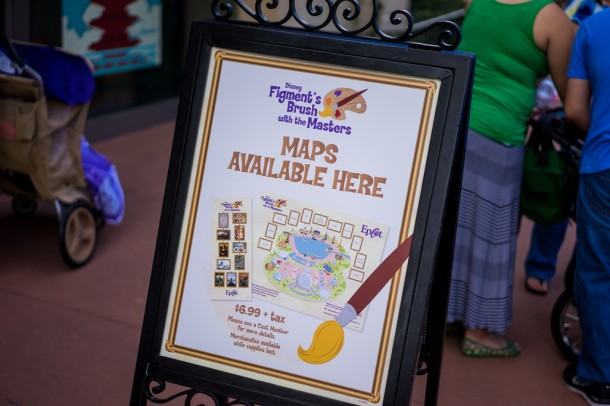 They have a Figment themed scavenger hunt.