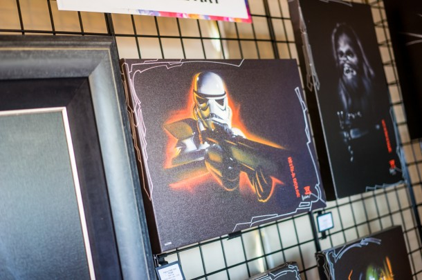 Some Star Wars art for sale.