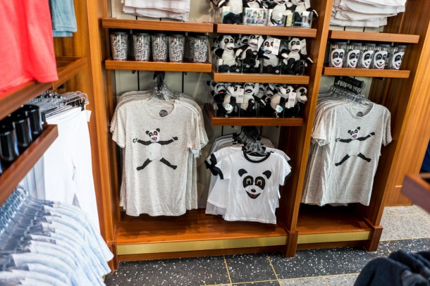 Hashtag the Panda merchandise.