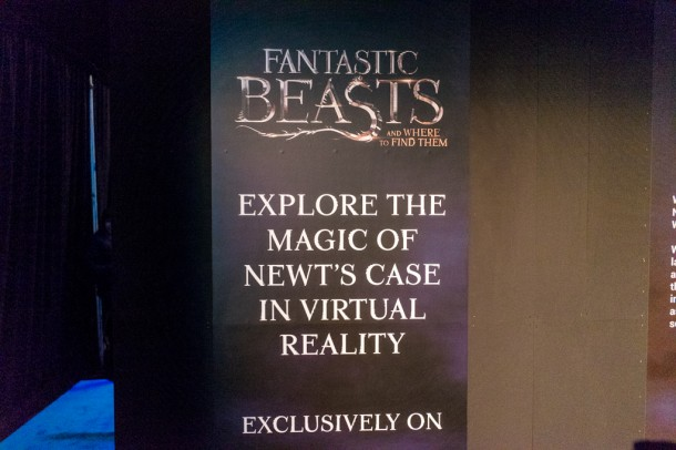 There was a VR tour of Newt's suitcase from Fantastic Beasts.