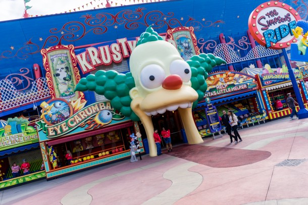 Simpsons are currently down for refurbishment.