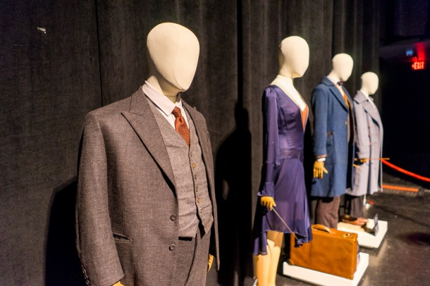 Movie costumes from Fantastic Beasts.