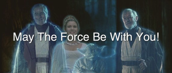 Leia With The Force