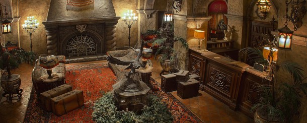 Tower of Terror lobby - ©Disney
