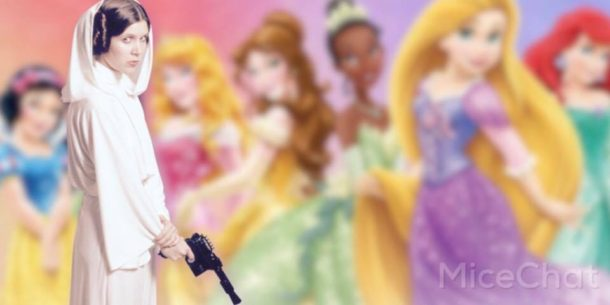 Should Leia be an official Disney Princess?