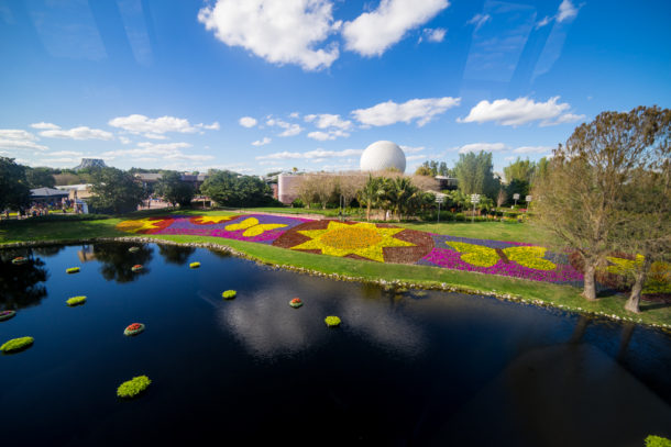 Micechat Epcot Features Epcot In Full Bloom For Flower And Garden Festival 2017