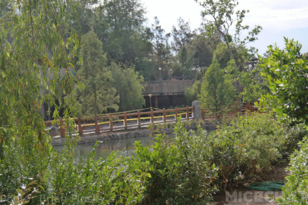 Disneyland Rivers of America Mark Twain Fantasmic Construction Star Wars Galaxy's Edge