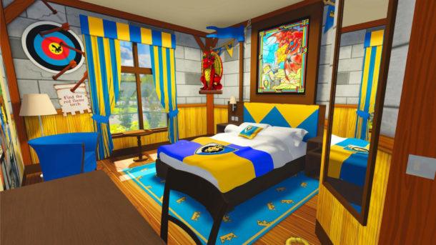 Legoland Castle Hotel (Adult area of a Dragon Knight room)