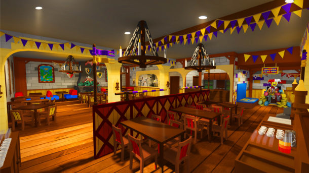Legoland Castle Hotel The Dragon's Den restaurant