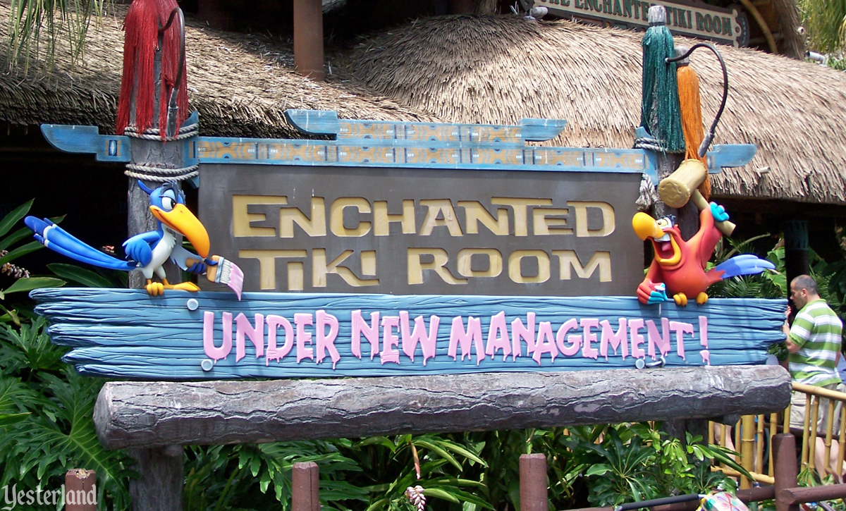 Enchanted Tiki Room Under New Management Magic Kingdom